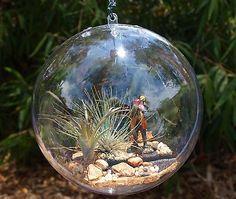 Garden Bauble - fishing?