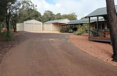 Red Earth Recycled Bitumen Driveway Concrete Sheds, Concrete Pathway, Brick Paving, Brick Driveway, Gravel Driveway, Bitumen Driveway, Asphalt Road, Limestone Wall, Pearl Beach