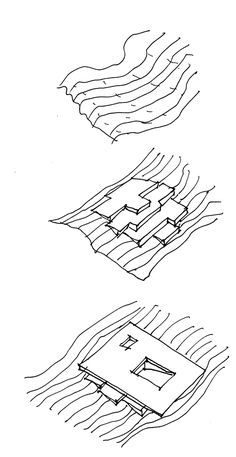 Gallery of Moesgaard Museum / Henning Larsen - 29 - EU Mies Award :: Shortlisted 2015 Edition :: Moesgaard Museum / Henning Larsen Architects - Plan Concept Architecture, Architecture Model Making, Landscape Architecture Design, Architecture Portfolio, Sustainable Architecture, Architecture Diagrams, Drawing Architecture, Henning Larsen, The Wave