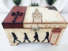 Caixa London por lifeartesanato