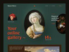 Weekly Design Inspiration #294 - Muzli - Design Inspiration Gallery Website, Online Gallery, Portfolio Website Design, Web Design Inspiration, Daily Inspiration, Typography, Photo And Video, Landscape, Halo