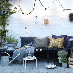 Terrasse en longueur: nos idées d\'aménagement