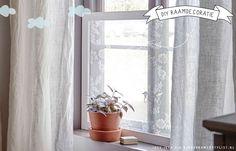 Raamdecoratie kinderkamer idee | ikea via Kinderkamerstylist.nl
