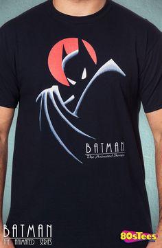 Batman The Animated Series T-Shirt: Batman Mens T-Shirt