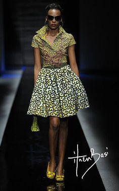 Ekaba dress; Ini necklace; Oghogho bangles; Nkoyo purse; Emeka footwear