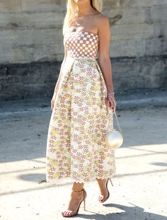Every Single Kind of Dress You Need This Summer - Strapless from InStyle.com