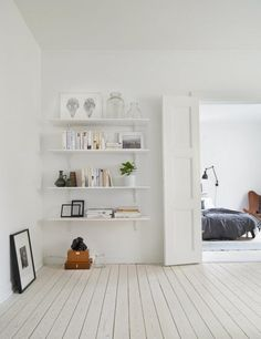Enkle vegghyller til kontor. Stylizimo - Home. Decor. Inspiration.