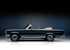 vintageclassiccars: Mercedes 280SE Cabriolet - prettiest car in the world?