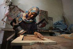 Las mujeres de Gaza se convierten en las cabezas de su familia
