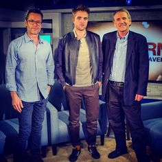 2 Adorable new photos of Rob & Guy from the ABC Popcorn interview