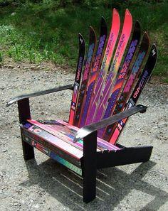 Adirondack Ski Chair by Anne Rast