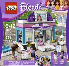 Lego Friends Butterfly Beauty Shop � Legos for girls!