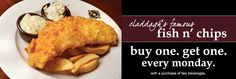 Claddagh Irish Pub in Middleton. 2-for-1 dinner coupon, see pg 461 of the Bucky Book. www.buckybook.com. We at Claddagh Middleton believe in great food, beer and ambiance. We invite you to partake in all the fun Claddagh has to offer. From Soccer Games to Fish Fry, you are sure to leave the pub satisfied. The staff of Claddagh Middleton invites you to sit back, grab and pint, and make a friend.