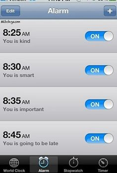 Hopefully this is The Help that I need to wake up in the morning! Lol