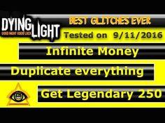 [ Dying light ] Duplication + Legendary + Money