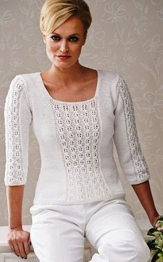 Discover thousands of images about Women's Crochet sweater crochet blouse crochet top Black Crochet Dress, Crochet Blouse, Knit Crochet, Crochet Sweaters, Summer Knitting, Crochet Woman, Sweater Knitting Patterns, Sweaters For Women, Tops
