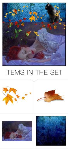 """""""AUTUNM LEAVES"""" by louisevegasgirl ❤ liked on Polyvore featuring art"""