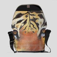 Tiger Messenger Bag #bags Designer Bags, Messenger Bags, Great Gifts, Gift Ideas, Hats, Style, Designer Handbags, Hat, Amazing Gifts