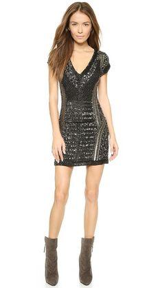 Parker Parker Black Serena Dress