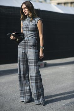 Pin for Later: The Best Street Style From All of Paris Fashion Week Paris Fashion Week, Day 4 Gala Gonzalez.