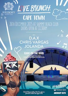 Love Brunch party featured on What's On Cape Town  http://www.whatson.co.za/details.php?id=183912