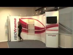 ISOframe Wave - easy to build! - Counters, product display shelving and video monitors. Oh my! Even with all these great specialty accessory features ISOframe Wave is still so easy to set up. One person, no tools, still perfect! Enjoy this video's soothing English accent at no extra charge! #tradeshow #display #ISOframe  https://www.youtube.com/watch?v=mWQ3knMaHxw
