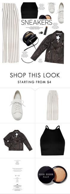 """""""Untitled #1008"""" by intellectual-blackness ❤ liked on Polyvore featuring Santoni, Topshop, Molo, Boohoo, StyleNanda, Bobbi Brown Cosmetics, Chanel and whitesneakers"""