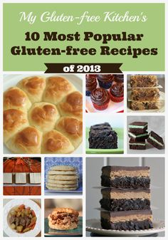 My Gluten-free Kitchen's 10 Most Popular Gluten-free Recipes from 2013