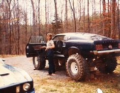 Hot vintage Mustang TRAR. Autumn back roads. (found on the web for TRAR Tue's by www.encinitasford.com)