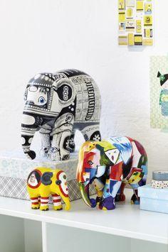 #elephantparade #art #design #elephant #handpainted #charity #savetheelephants #bepartofit #homedecor
