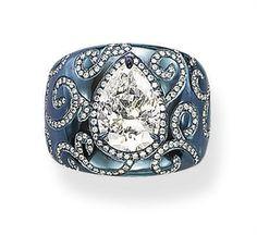 titanium diamond rings