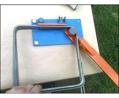 dobladora de estribos construccion olympia hierro vigas Metal Bending Tools, Metal Working Tools, Metal Tools, Metal Projects, Welding Projects, Metal Crafts, Metal Bender, Metal Forming, Welding Table