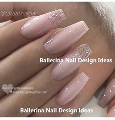 Trendy Ballerina Nail Art 2019 - Edeline Ca. - sandig - Trendy Ballerina Nail art 2019 – Edeline Ca. – sandy Trendy Ballerina Nail Art 2019 – Edeline Ca. Glam Nails, Beauty Nails, Cute Acrylic Nails, Cute Nails, Hair And Nails, My Nails, Ballerina Nails, Powder Nails, Nail Art Hacks