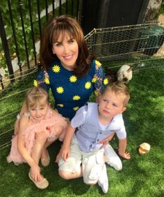 Family fun on Easter! Check out Robin's Instagram for more photos: https://instagram.com/robin_mcgraw/