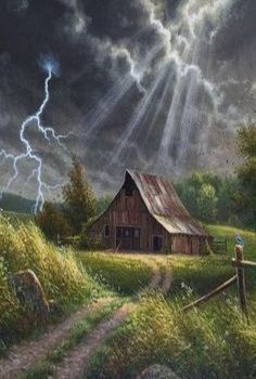 Storm Above The Barn