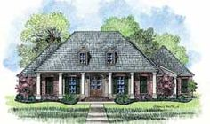 Southern Style House Plans - 4078 Square Foot Home , 1 Story, 4 Bedroom and 3 Bath, 3 Garage Stalls by Monster House Plans - Plan 91-141