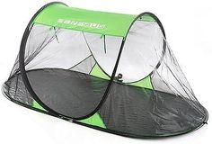 SansBug Free-Standing Pop-Up Mosquito-Net Tarp Floor SansBug