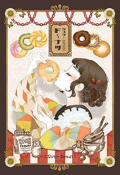 Anime Art Girl, Manga Art, Geisha, Japanese Artwork, Cute Girl Drawing, Samurai, Otaku, Anime Drawings Sketches, Digital Art Girl