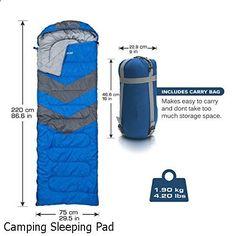 Camping Sleeping Pad - amazing variety. Must visit...