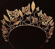 "Ivy Laurel Tiara worn by Gwenyth Paltrow in ""Shakespeare In Love"" 