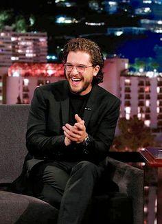 The one and only Kit Harington — casaharington: Kit Harington - Jimmy Kimmel Live -...