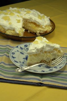 Recipes for Diabetes - Banana Pineapple Pie - Ingredients, Directions, Nutrition Facts - University of Illinois Extension