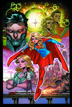 Cover to Supergirl #1 (2016)