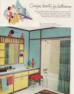 Carefree Beauty for Bathrooms - 1960