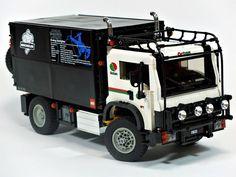 LEGO Dakar Rally support truck by Yang Nam