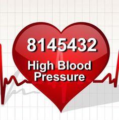 Grabovoi code for High Blood Pressure.