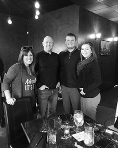 Great conversation tonight with these excellent people all to raise money for #llsmwoy! If you're out and about tonight go see Man of the Year Candidate Darin and ask him to make you one of his special drinks at @giannibaccis! | #makesomedaytoday #oldtown #loveict #fuckcancer #forthecure @leukemialymphomasociety