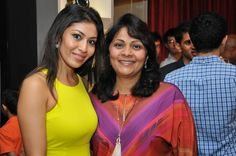 Mrs. Purnima Sheth, Sr.Director Sales, Rose with a guest at Rose - The Watch Bar