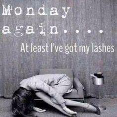 Yep. #monday #lashes #mascara #beauty #younique