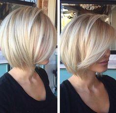 Mit diesen 13 mittellangen Frisuren kannst Du Dich 2015 zeigen! - Neue Frisur